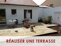 Réaliser une terrasse en traverses de chemin de fer